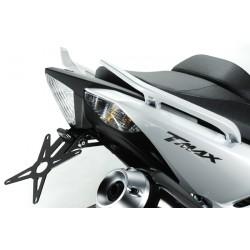 Deprettomoto DPM portatarga Yamaha TMAX 530 con luce targa led