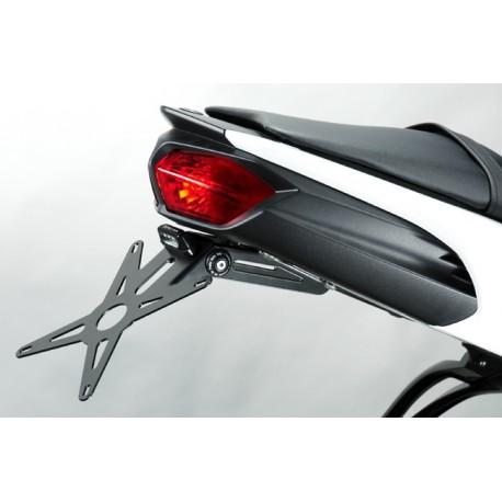 Deprettomoto DPM portatarga Yamaha FZ8 con luce targa led
