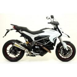 71806XKI Arrow terminale scarico X-Kone Ducati Hyperstrada + raccordo 71490MI