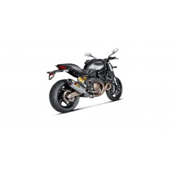 S-D8SO2-HRT Akrapovic terminale omologato Ducati Monster 821
