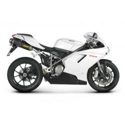 S-D10SO3-ZC Akrapovic cp. terminali non omologati Ducati 848-1098-1198
