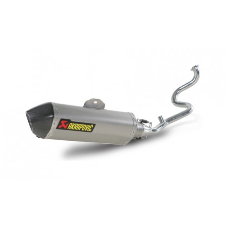 S-H125R1-HRSS Akrapovic sistema scarico omologato Honda SH 125-150i