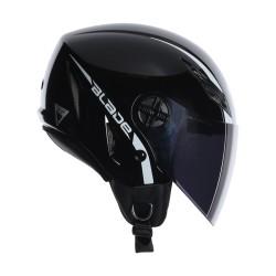 Agv casco jet Blade mono nero lucido helmet casque