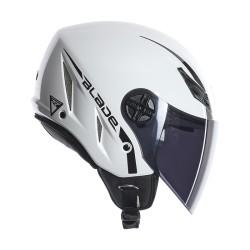 Agv casco jet Blade mono bianco lucido helmet casque