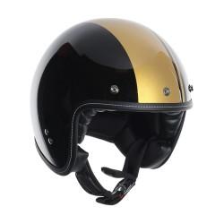 Agv casco jet RP60 Royal black-gold helmet casque