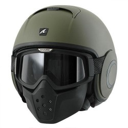Shark Raw casco jet green matt helmet casque