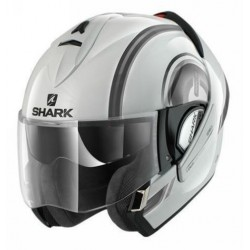 Shark Evoline Moov up casco modulare white-black-silver