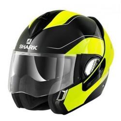 Shark Evoline 3 Arona casco modulare giallo fluo