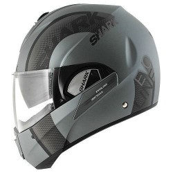 Shark Evoline 3 Drop casco modulare silver matt
