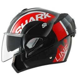 Shark Evoline 3 Drop casco modulare black-red-white