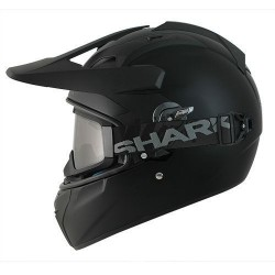 Shark Explorer matt black nero opaco casco Enduro helmet casque