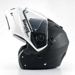 Blauer casco modulare Sky nero-bianco helmet casque