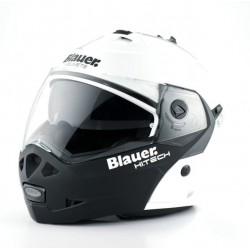 Blauer casco modulare Sky bianco-nero helmet casque