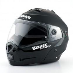 Blauer casco modulare Sky nero opaco helmet casque