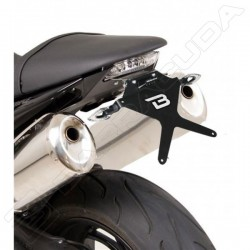 Barracuda portatarga regolabile Triumph Speed Triple dal 2008 al 2010
