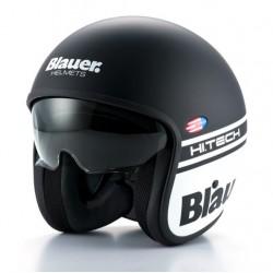 Blauer casco jet Pilot 1.1 nero opaco matt black helmet casque