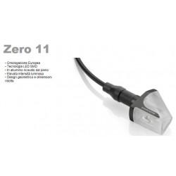 Rizoma coppia frecce moto Zero-11 a led nere