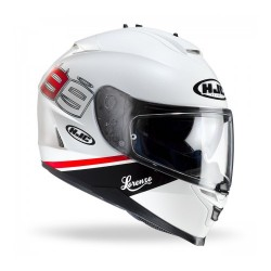 Hjc IS-17 MC10 Lorenzo 99 white casco casque integrale moto