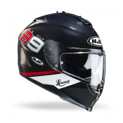 Hjc IS-17 MC5 Lorenzo 99 black casco casque integrale moto