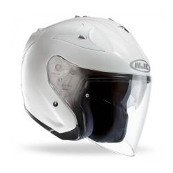 Hjc FG-JET casco casque helmet jet moto pearl white