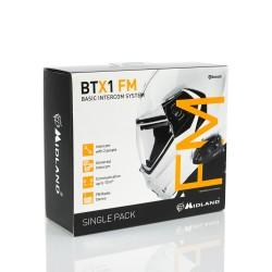 Midland BTX1-FM interfono casco confezione singola