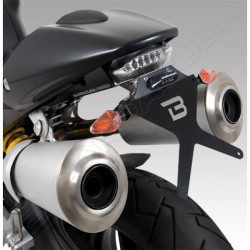 Barracuda portatarga regolabile Ducati Monster 696