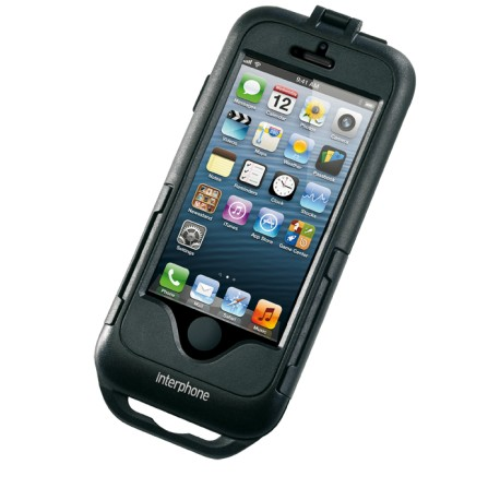 Smiphone5 custodia manubrio moto Cellularline Apple iphone 5