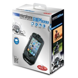 Smiphone4 custodia manubrio moto Cellularline Apple iphone 4