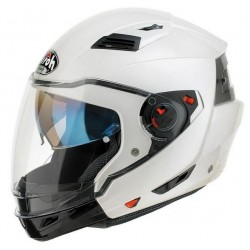 Casco Airoh Executive jet modulare integrale helmet white