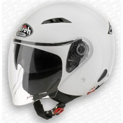 Casco Airoh City one jet helmet bianco lucido casque