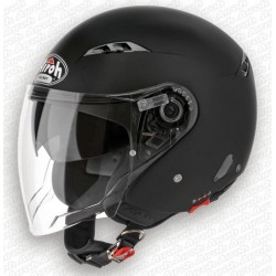 Casco Airoh City one jet helmet nero opaco casque