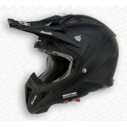 Casco Airoh Aviator helmet nero opaco casque cross