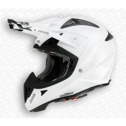 Casco Airoh Aviator helmet bianco lucido casque cross