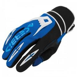 Acerbis paia guanti MX X2 cross motard enduro blu
