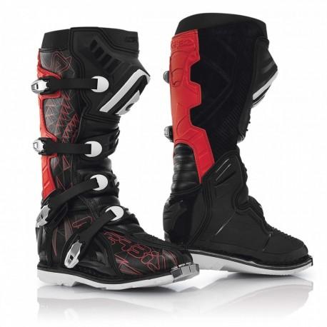 Acerbis paia Stivali Shark Boots nero-rossi cross motard enduro