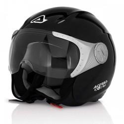 Acerbis casco jet X-jet nero lucido casque helmet