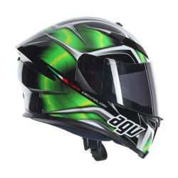 Agv K5 Hurricane black-green casco helmet casque integrale full face