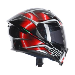 Agv K5-S Hurricane black-red casco helmet casque integrale Pinlock