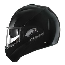 Shark Evoline 3 casque casco helmet modulare black gloss