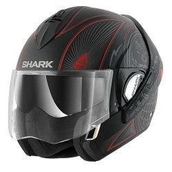 Shark Evoline Mezcal casco modulare anthracite-black-red