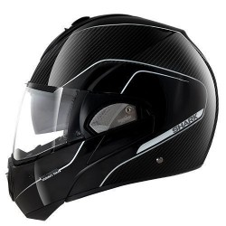 Shark Evoline 3 Pro Carbon casco modulare black-silver