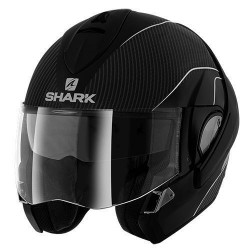Shark Evoline 3 Pro Carbon casque casco modulare matt black-silver