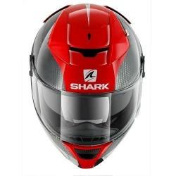 Shark Speed-R 2 Carbon Skin casco integrale helmet casque red-white