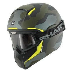 Shark Vancore Wipeout casco integrale helmet casque green-yellow
