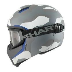 Shark Vancore Wipeout casco integrale helmet casque silver-blu