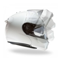 Hjc Rpha-max Evo casco casque modulare bianco perla white
