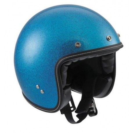 Agv casco jet RP60 Metal Flake blu helmet casque