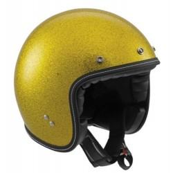 Agv casco jet RP60 Metal Flake gold oro helmet casque
