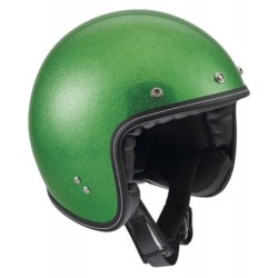 Agv casco jet RP60 Metal Flake green verde helmet casque