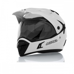 Acerbis casco cross enduro Active bianco casque helmet